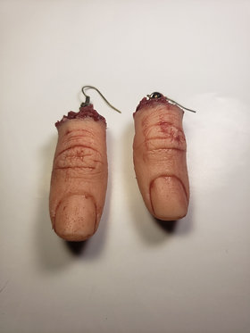 Severed Thumb Earrings