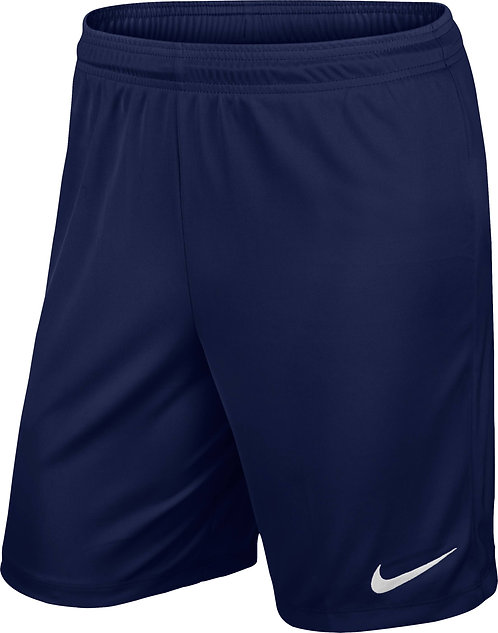 MFC Nike Unises Park II Short (Navy)- MFC training and MFC Academy