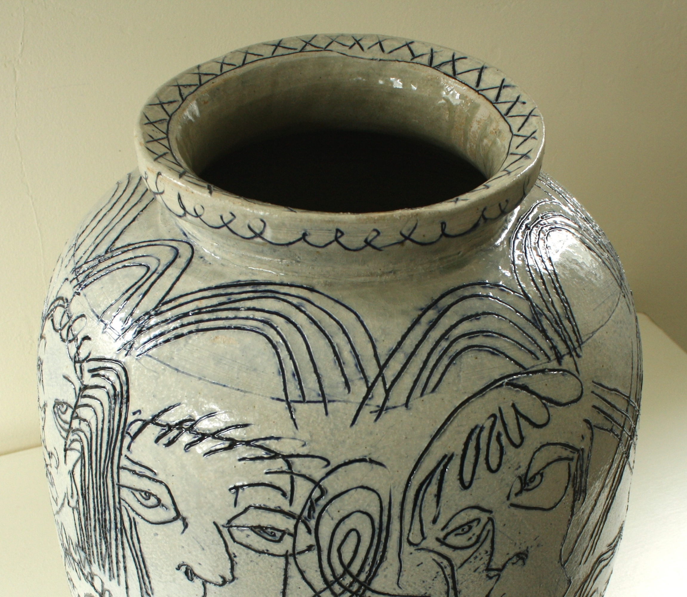 Drawn Vase, detail