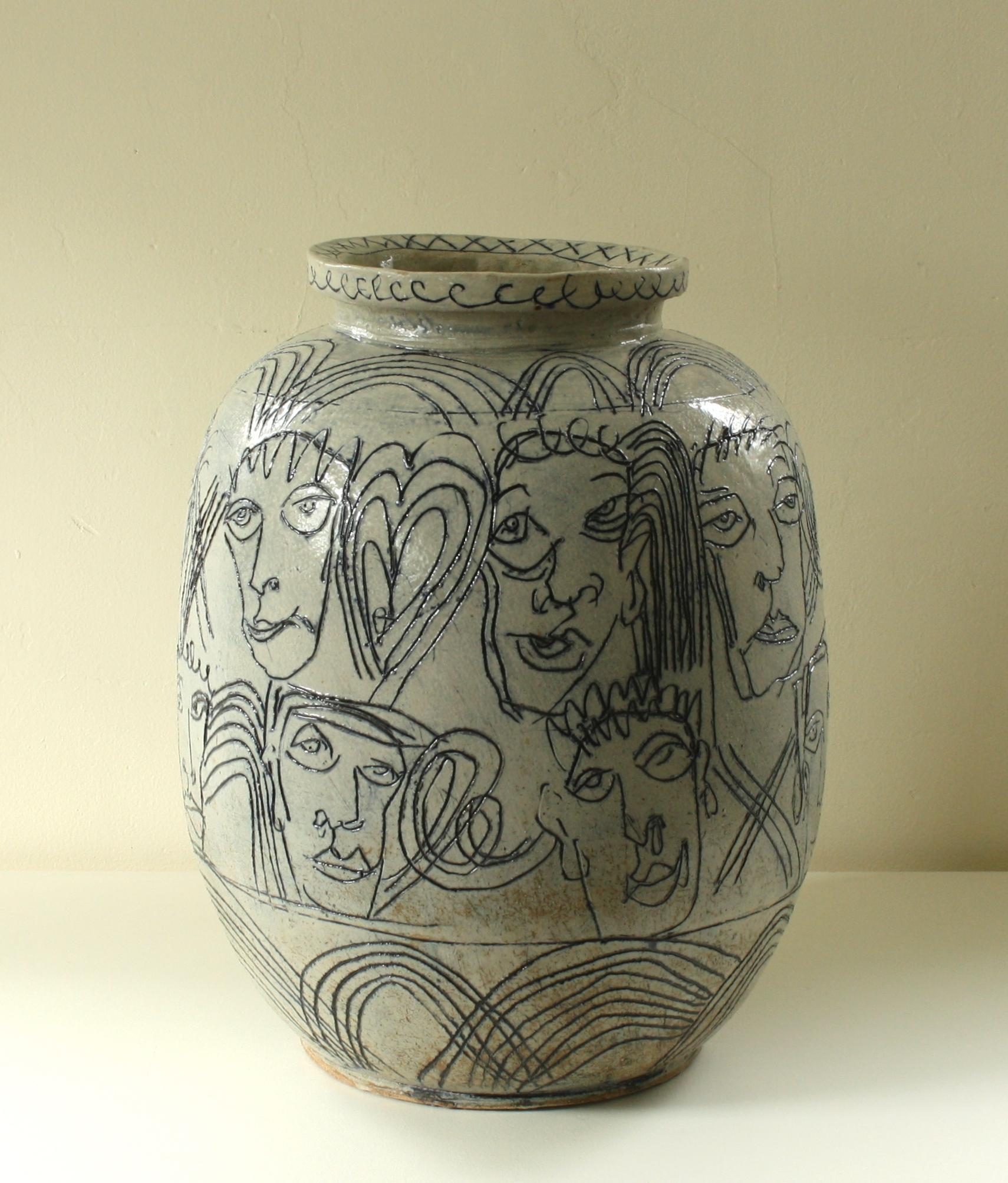 Drawn Vase