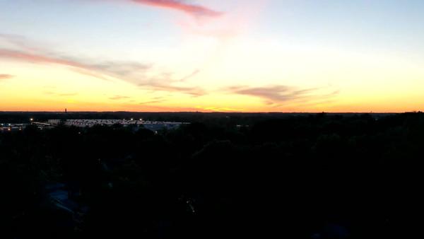 Aerial Sunset Hyperlapse