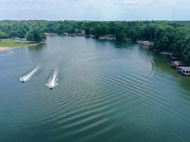 Aerial Photograph of Heritage Lake.