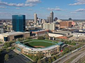 Indianapolis aerial photo.