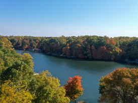 Heritage Lake Indiana autumn