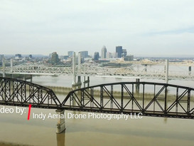 ohio river from Jeffersonville, Indiana