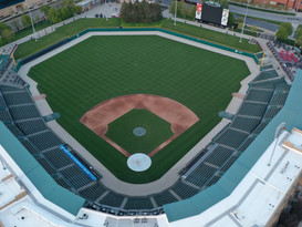 Aerial view of Victory Field