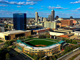 Downtown Indianapolis. Victory field.