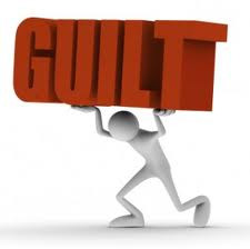 Don't let guilt weigh you down....