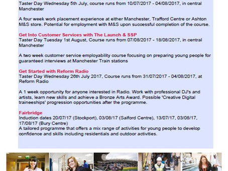 Looking for work? FREE courses in your area....