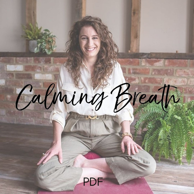 Two techniques to calm anxiety/nerves: a regular breathing ritual, plus on-the-spot relief for moments of stress.