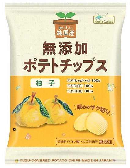 純国産 ポテトチップス 柚子