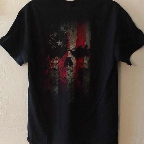 ProRider- American Skull T-Shirt  *FREE SHIPPING*
