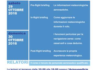 Corso di Meteorologia Aeronautica