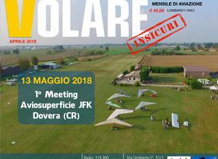 """Meeting """"Volare Insicuri"""" Domenica 13 Maggio 2018"""