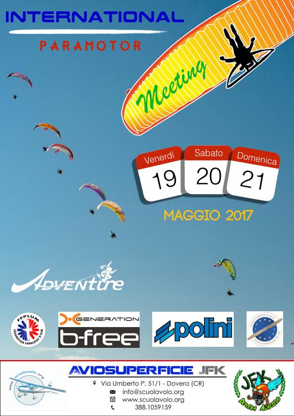 International Paramotor Meeting - Aviosuperficie JFK Dovera