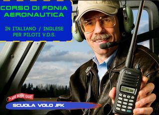 Corso di Radiotelefonia Aeronautica per piloti V.D.S.