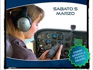 Apertura iscrizioni per corso di Fonia Aeronautica