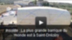 Cliquer ici pour lire la vidéo de la plus grosse barrique du monde par Mouysset-Freres