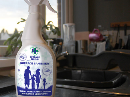 Surface Shield HOCL Surface Sanitiser Now Available!