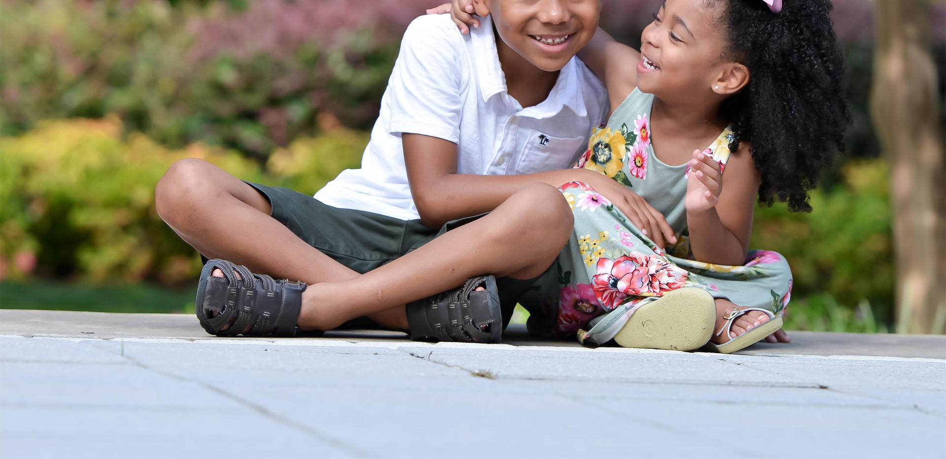 Little Jordan and Bridget