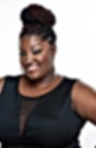 Aronda Denise top natural hair stylist located at look hair care studio Philadelphia