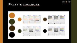 Dah-O-Me Color Palette Example work