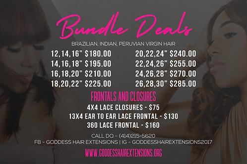3 Bundle Deals