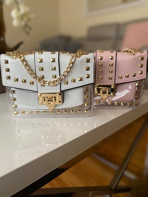 Studded Goddess Handbag