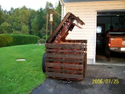 Fireplace wood box
