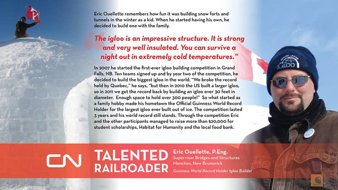 Talented Railroader