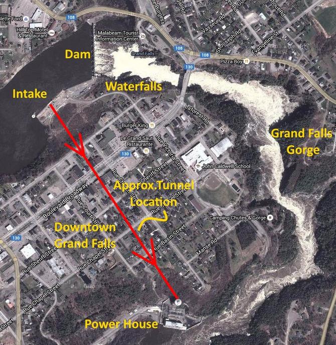 Grand Falls Hydro Tunnel visit