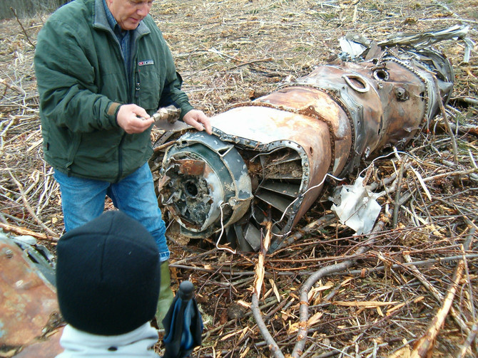 Lost B-52 engines?
