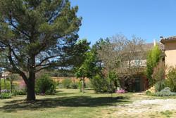 Jardin proche de la maison