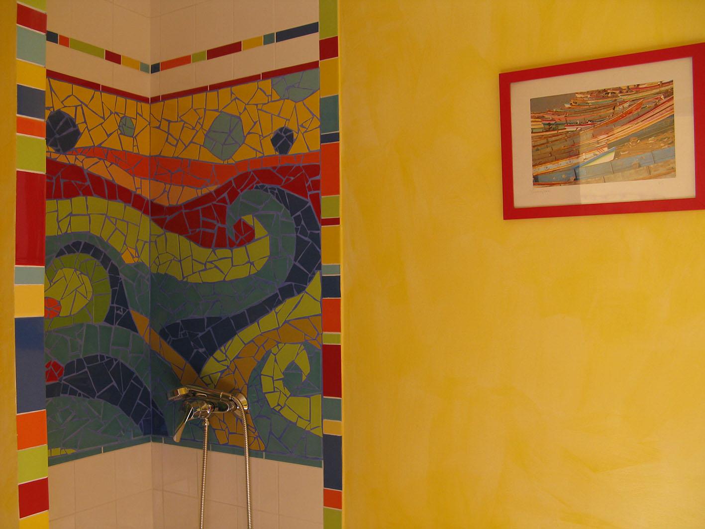 Toilette avec douche