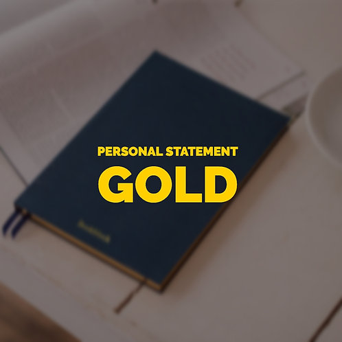 Personal Statement Gold Pack