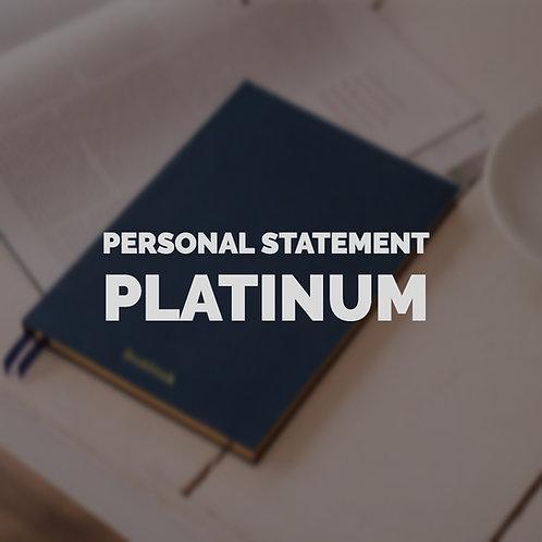 Personal Statement Platinum Pack