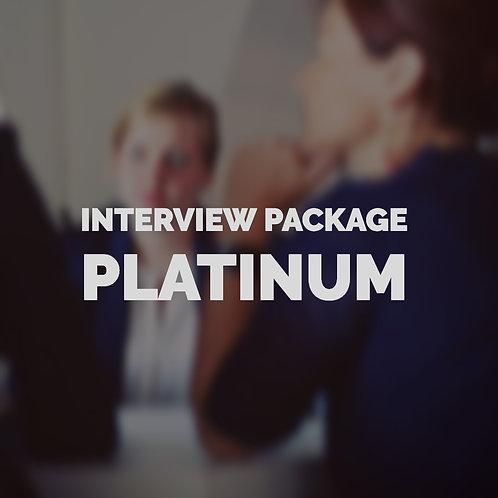 Interview Platinum Package
