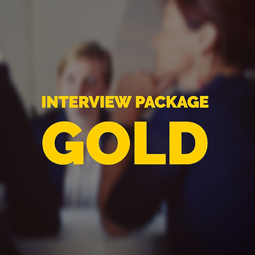 Interview Gold Package