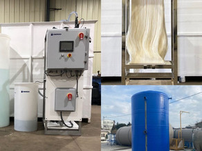 Another smart modular solution for onsite wastewater treatment and water reuse.