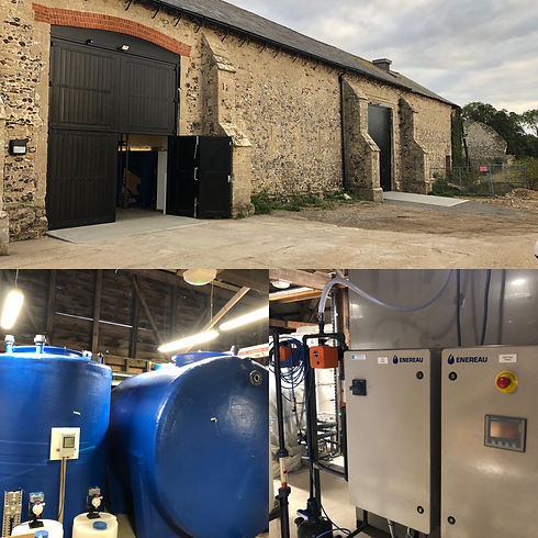 Norwich Craft Brewery Membrane BioReacto