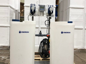 Brewery wastewater pre-treatment module is ready to ship.