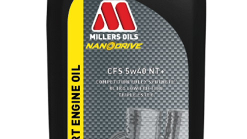 Millers Oils CFS 5W40 NT+ NanoDrive (1L)