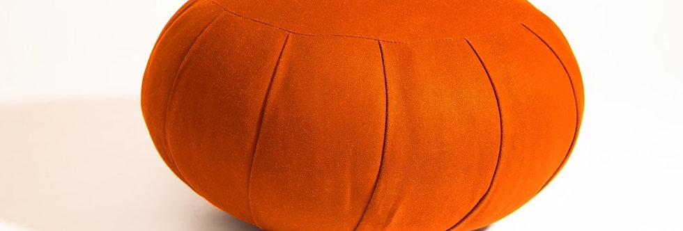 Zafu (Orange / Dark Brown)