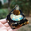 Thumbnail: Tiger Eye & Obsidian Orgone Pyramid 60mm