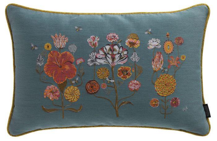 Crazy Flowers Pillow