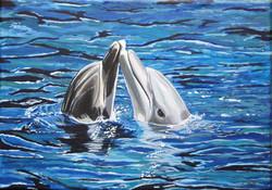 Dolphin's dance