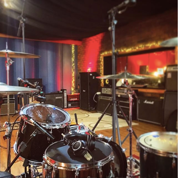 Drum Recording Studio 1