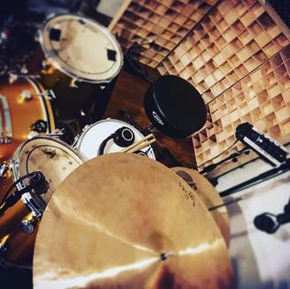 Start Together Studio Drum Recording