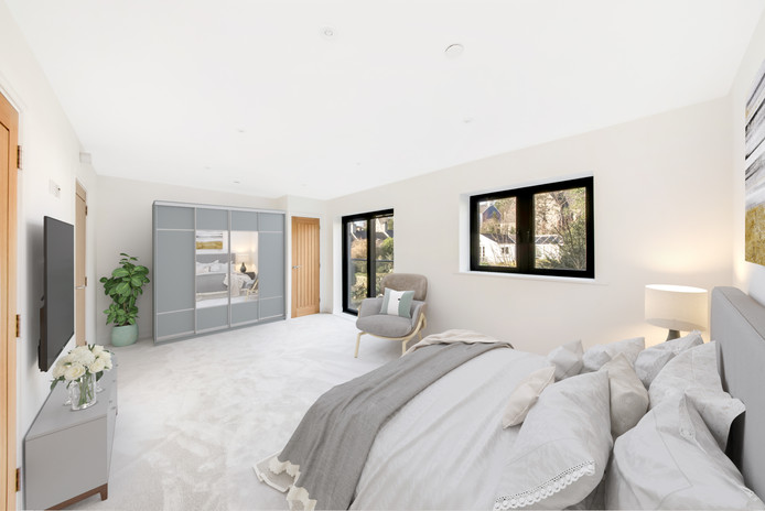 Bedroom Virtual Staging England