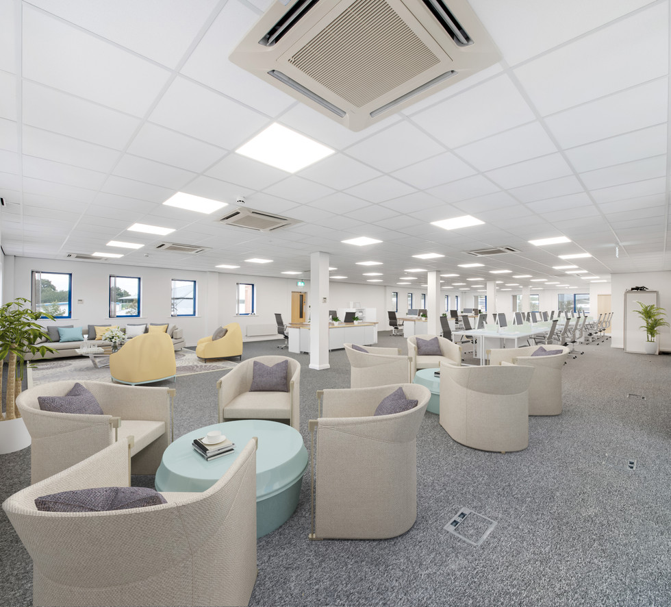 Virtual Staging for Offices